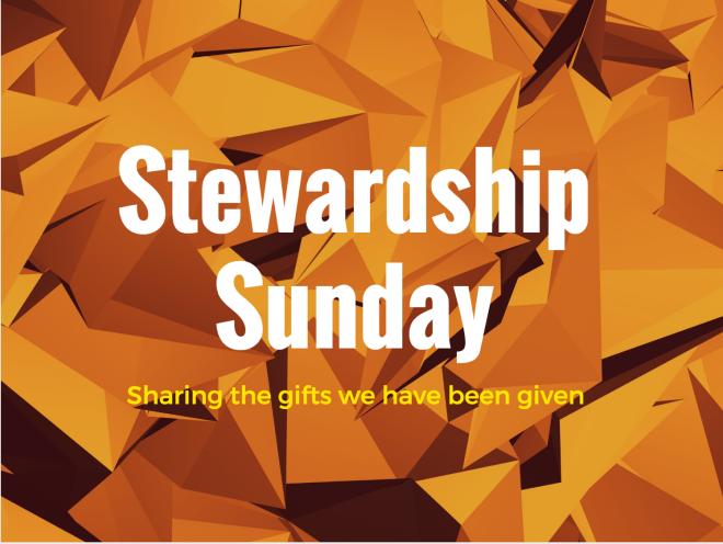Stewardship Sunday