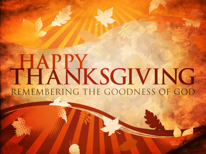 Thanksgiving Holiday - Church Office Closed