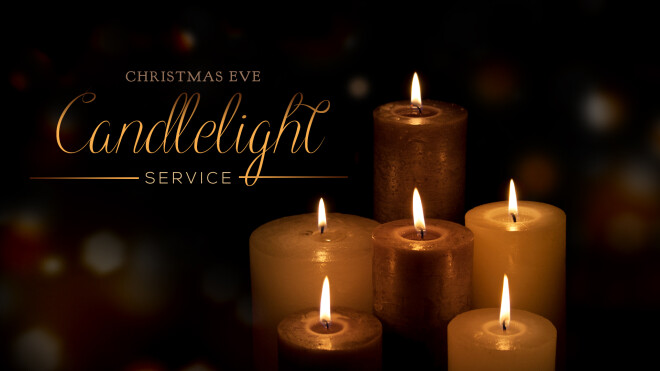 4:30 PM Christmas Eve Candlelight Service